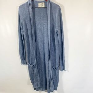 Abercrombie & Fitch Cardigan Open Front Hooded